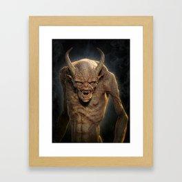 Demon III Framed Art Print