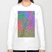 leaf Long Sleeve T-shirts featuring Leaf  by Latidra Washington