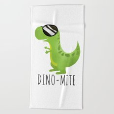 Dino-Mite Beach Towel