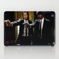 pulp fiction iPad Cases featuring Pulp Fiction by Susan Lewis
