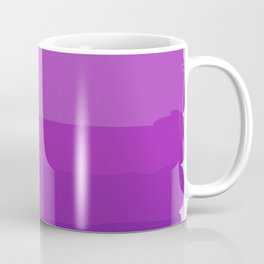 Ultra Violet Gradient Coffee Mug