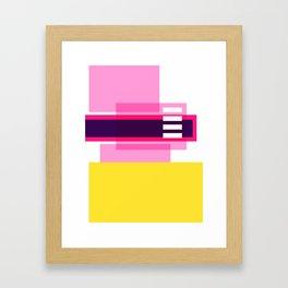 Bright Abstract II Framed Art Print