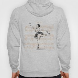 Ballerina print Hoody