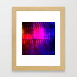 ORGASMIC VIBES Framed Art Print
