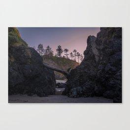 Secret Tide Pool Entrance Canvas Print