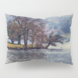 Rain at the Lake Pillow Sham