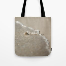 Seashell in the Waves Tote Bag
