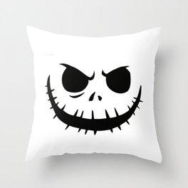 Jack Smile Throw Pillow