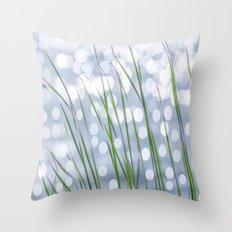 Bed of reeds  Throw Pillow