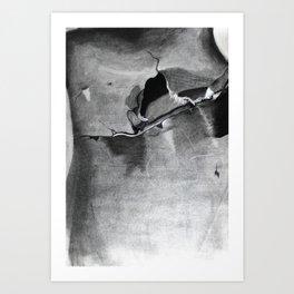 Mannequin Crack Art Print