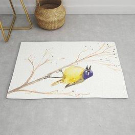 Yellow Wagtail Rug