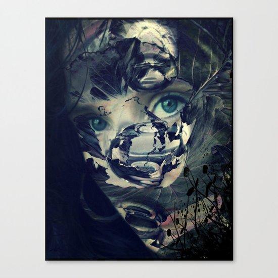 The Veil Canvas Print