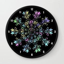 Flora Bohemia Wall Clock