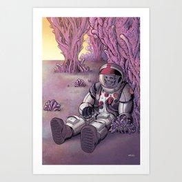 Stranded Art Print