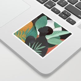Tropical Girl 11 Sticker