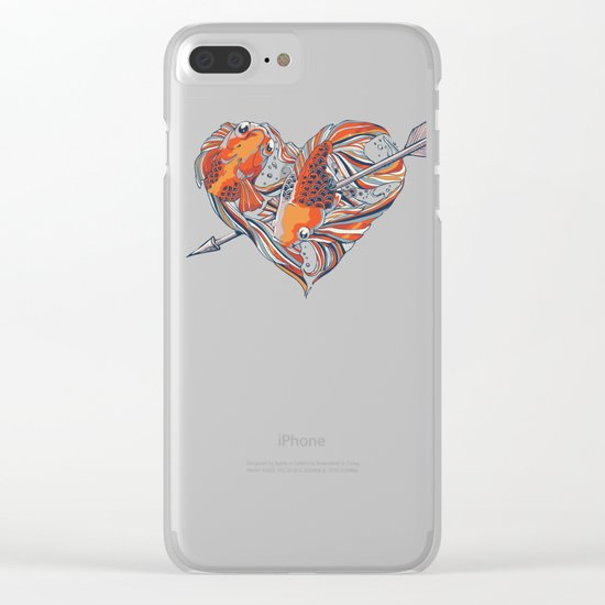 Form of Love Clear iPhone Case