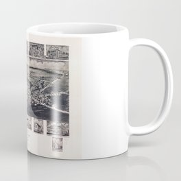 Bird's Eye View of Rising Sun, Maryland (1907) Coffee Mug