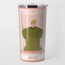 Tarot Card XI: (Supreme Court) Justice Travel Mug