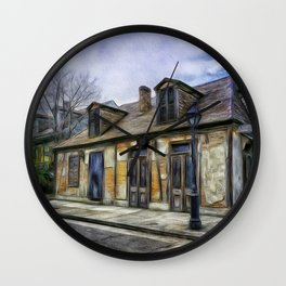 The Old Blacksmith Shop Wall Clock