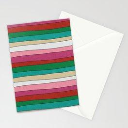 pattern funky stripes Stationery Cards