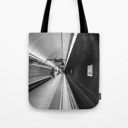 Metro B and W Tote Bag
