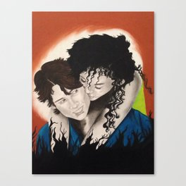 Thia and Chi 2 Canvas Print