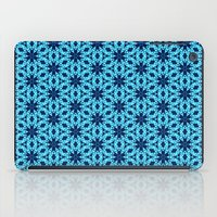 knitting iPad Cases featuring blue Knitting by clemm