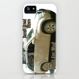 Muddy Zook Suzuki Grand Vitara iPhone Case
