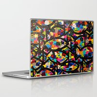 trout Laptop & iPad Skins featuring Rainbow Trout by Jordan Luckow