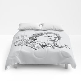 Einstein's Cat Comforters