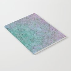 teal mirror fade Notebook