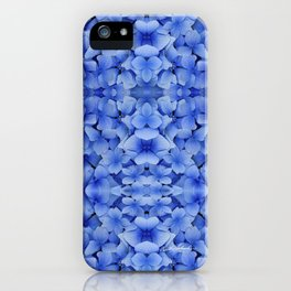 Petals in Blue iPhone Case