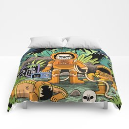 Lost contact Comforters