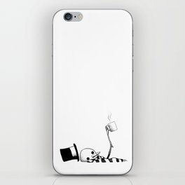 The Hot Chocolate Tragedy iPhone Skin