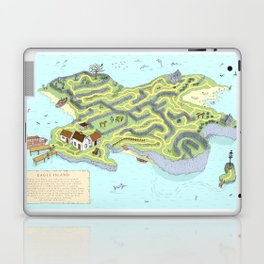 Eagle Island Maze Laptop & iPad Skin