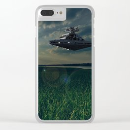 The calm before the storm Clear iPhone Case