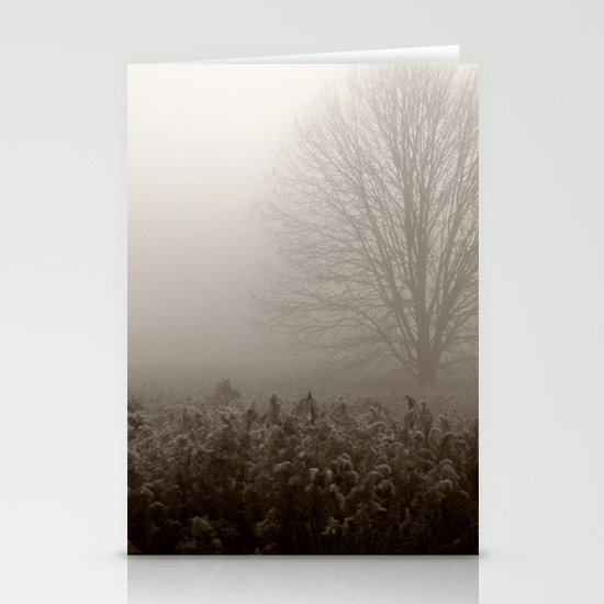 Falls first frost Stationery Cards