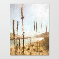 Always stop at the viewpoint Canvas Print
