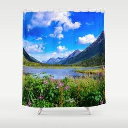 God's Country - IV, Alaska Shower Curtain