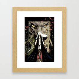Unwelcome Guests Framed Art Print