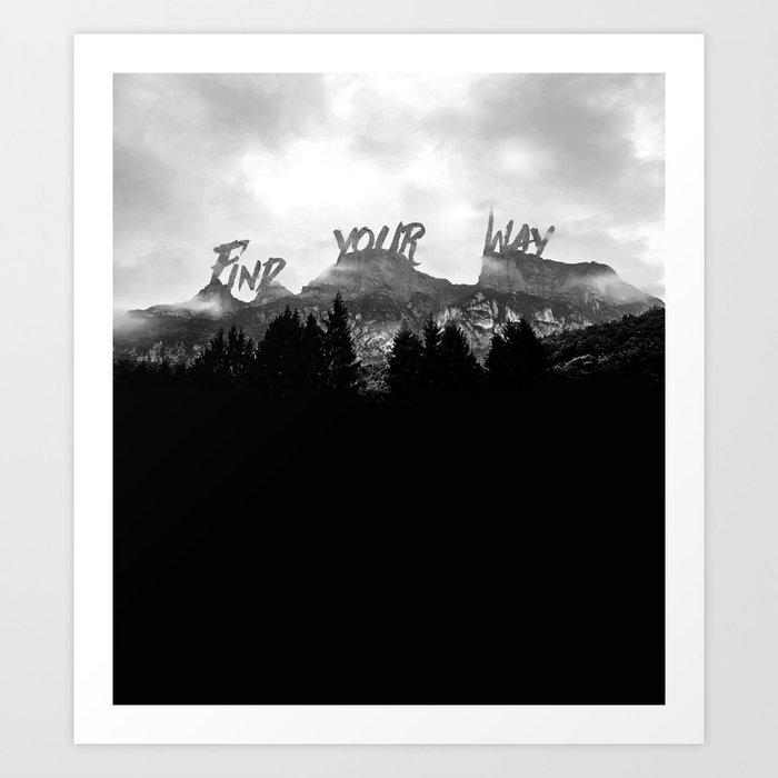 Wisdom of Nature Art Print