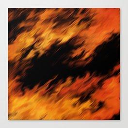 Infernal Agni #fire #burn Canvas Print