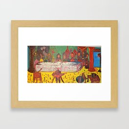Last supper #3 / Ultima Cena #3 Framed Art Print