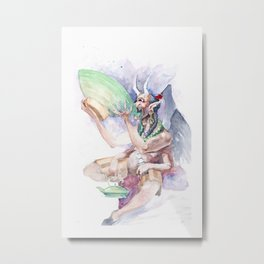 Drunken Devil Metal Print