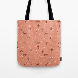 Pink Desert Sands Tote Bag