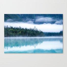 Blue nature #reflection Canvas Print