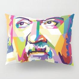 Galileo in Pop Art Portrait Pillow Sham