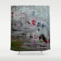 imagerybydianna Shower Curtains featuring orchid mist by Imagery by dianna