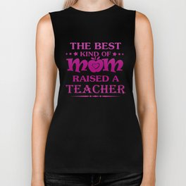 TEACHER'S MOM Biker Tank