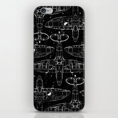 Spitfire Mk. XIV (white) iPhone & iPod Skin